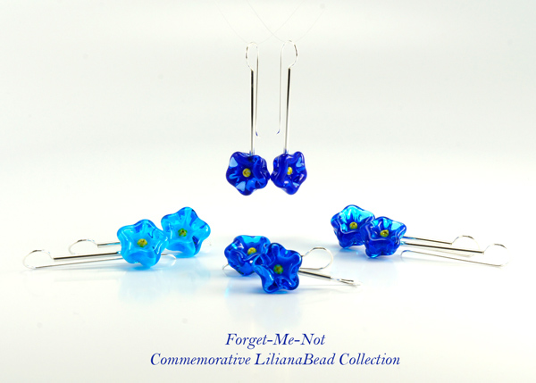 Forget-Me-Not Commemorative LilianaBead Collection